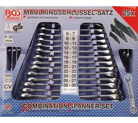 BGS set viljuškasto-okastih ključeva 6-32mm 25-dijelni pro+ 1190 promo
